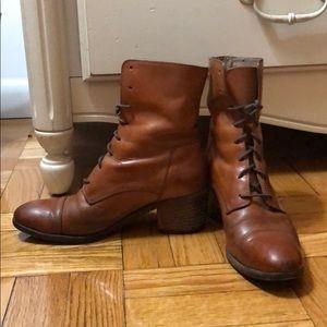 Cognac Frye boots